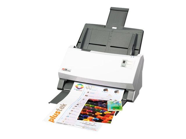 Plustek SmartOffice PS456U - Dokumentenscanner - Duplex - 244 x 356 mm - 600 dpi x 600 dpi - bis zu 80 Seiten/Min. (einfarbig) /