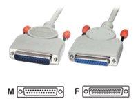 Lindy - Modemkabel - DB-25 (M) bis DB-25 (W) - 5 m - geformt
