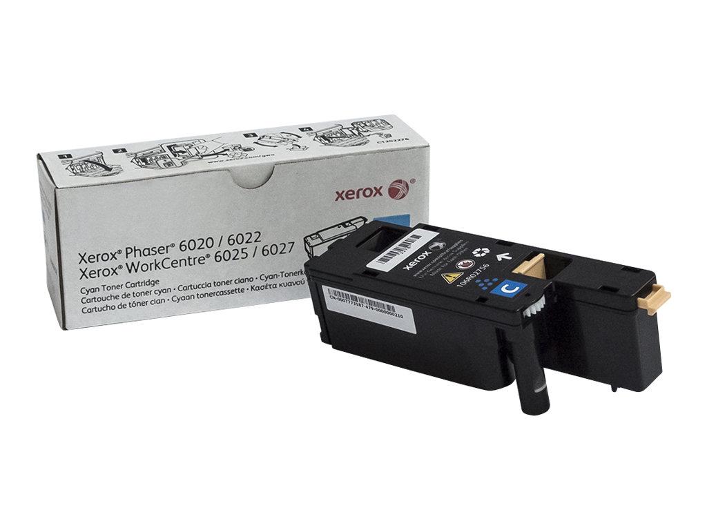 Xerox WorkCentre 6027 - Cyan - Original - Tonerpatrone - für Phaser 6020V_BI, 6022/NI, 6022V_NI; WorkCentre 6025V_BI, 6027/NI, 6