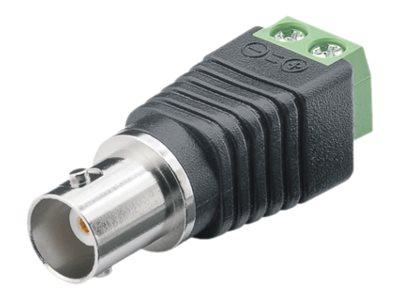 M-CAB - Video-/Audioanschluss - BNC (W) bis 2-polige Klemmleiste schraubbar (Packung mit 10)