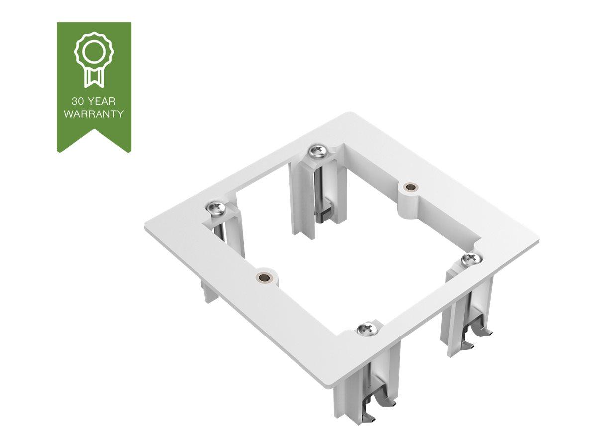 VISION TechConnect 2 Mudring - Adapter für Unterputzmontage - Abdeckung mit einer Aussparung