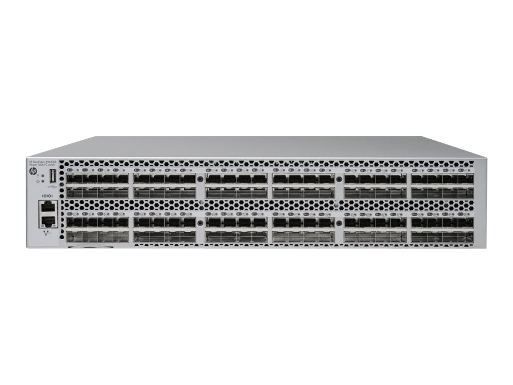 HPE StoreFabric SN6500B 16Gb 96-port/48-port Active Power Pack+ Fibre Channel Switch - Switch - verwaltet - 48 x 16Gb Fibre Chan