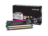 Lexmark - Hohe Ergiebigkeit - Magenta - Original - Tonerpatrone LCCP, LRP - für Lexmark C748de, C748dte, C748e