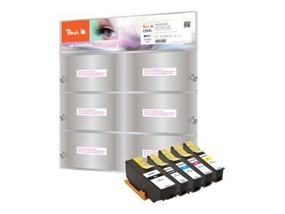 Peach Spar Pack - 5er-Pack - XL-Kapazität - Schwarz, Gelb, Cyan, Magenta, Photo schwarz - Tintenpatrone (Alternative zu: Epson 2