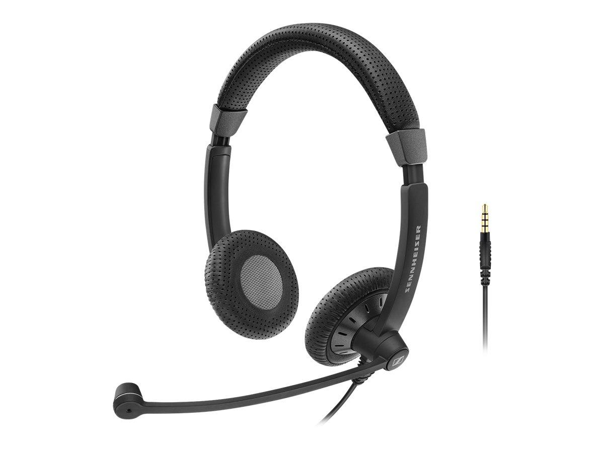 Sennheiser SC 75 - Culture Plus Mobile - Headset - On-Ear - kabelgebunden - aktive Rauschunterdrückung