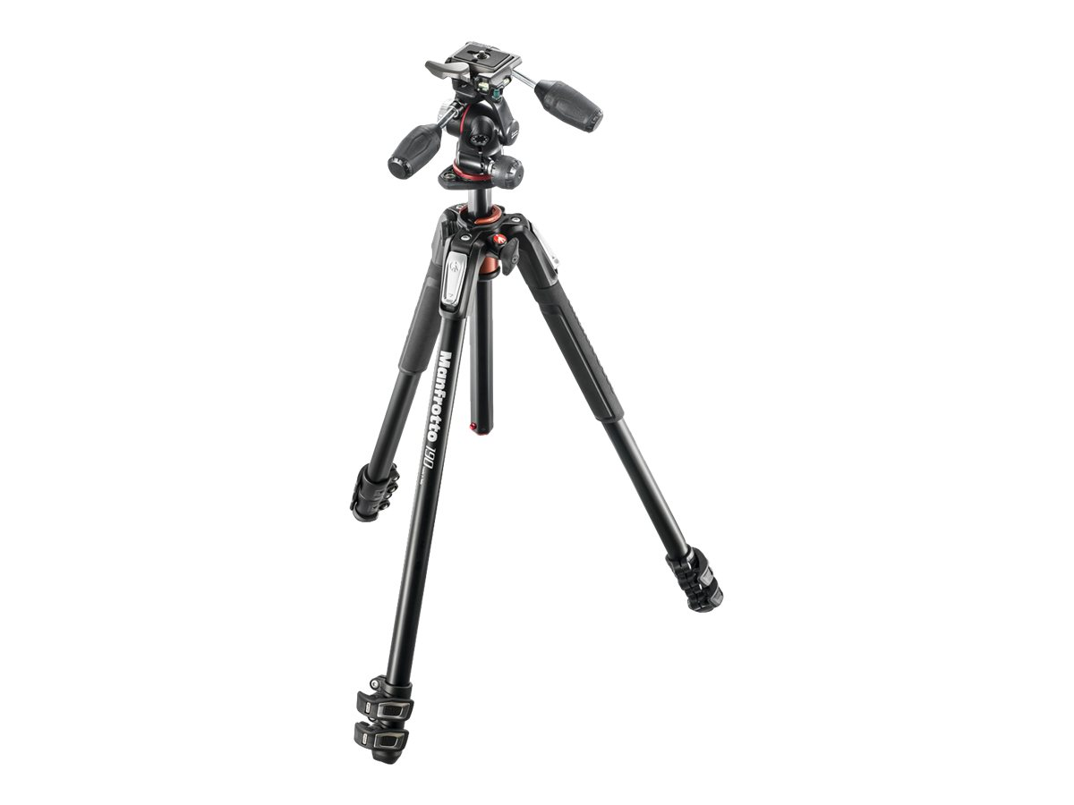 Manfrotto 190XPRO3 - Stativ - mit Manfrotto X PRO 3-way Head