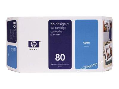HP 80 - 175 ml - Cyan - Original - DesignJet - Tintenpatrone