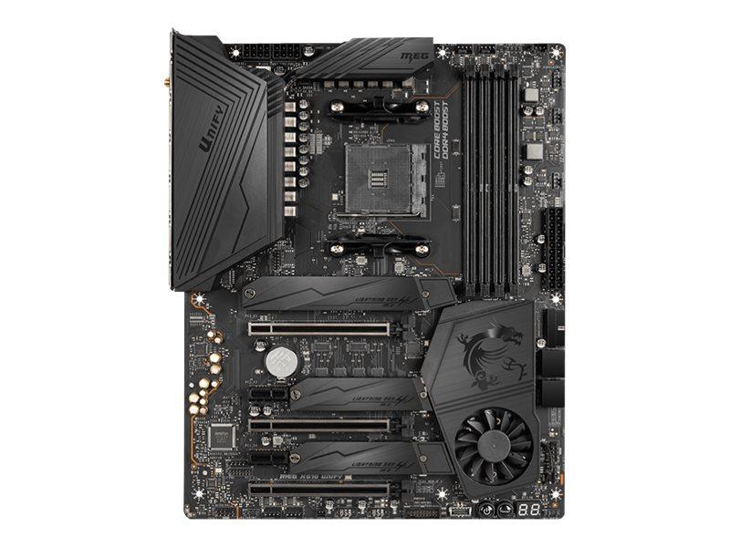MSI MEG X570 UNIFY - Motherboard - ATX - Socket AM4 - AMD X570 - USB-C Gen2, USB 3.2 Gen 1, USB 3.2 Gen 2