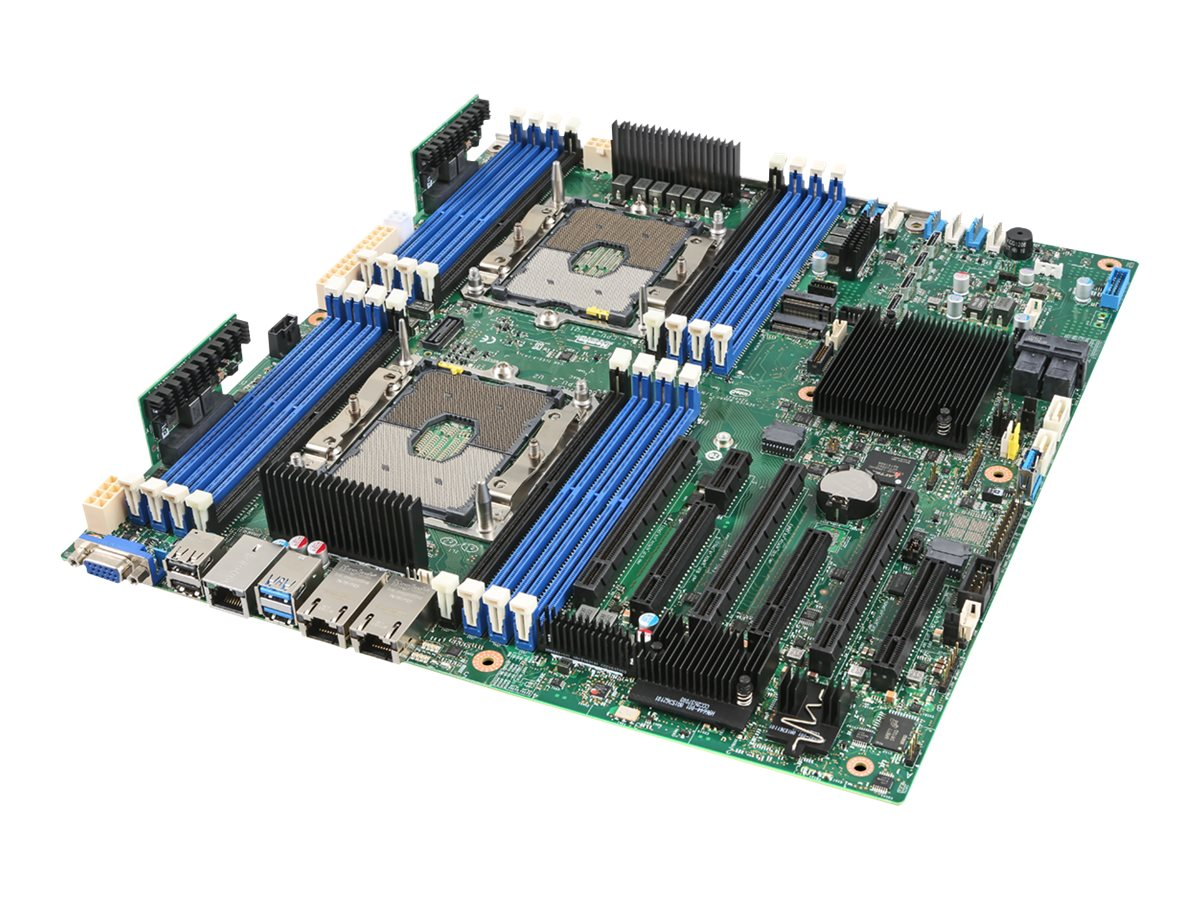 Intel Server Board S2600STBR - Motherboard - SSI EEB - Socket P - 2 Unterstützte CPUs - C624