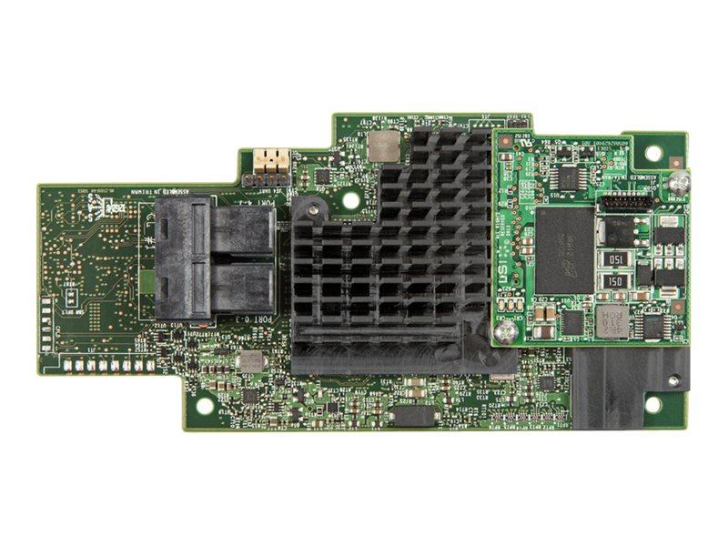 Intel Integrated RAID Module RMS3CC040 - Speichercontroller (RAID) - 4 Sender/Kanal - SATA 6Gb/s / SAS 12Gb/s - 12 Gbit/s - RAID