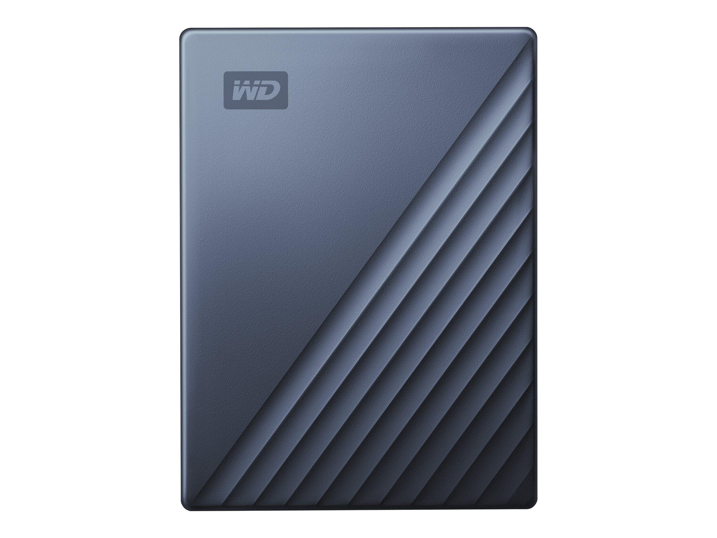WD My Passport Ultra WDBC3C0020BBL - Festplatte - verschlüsselt - 2 TB - extern (tragbar) - USB 3.0 (USB-C Steckverbinder)