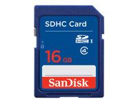 SanDisk Standard - Flash-Speicherkarte - 16 GB - Class 4 - SDHC