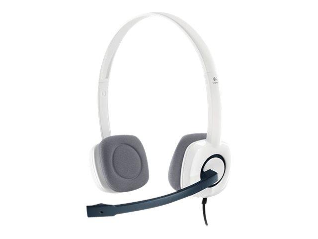 Logitech Stereo Headset H150 - Headset - On-Ear - kabelgebunden - Coconut