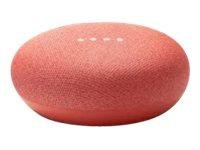 Google Home Mini - Smart-Lautsprecher - Bluetooth, Wi-Fi - Coral