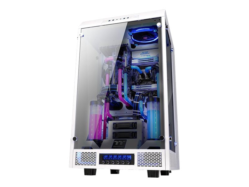 Thermaltake The Tower 900 - Snow Edition - Full Tower - Erweitertes ATX - ohne Netzteil (PS/2) - weiss
