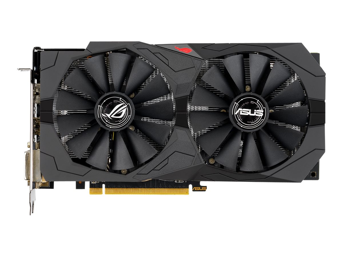 ASUS ROG-STRIX-RX570-O8G-GAMING - OC Edition - Grafikkarten - Radeon RX 570 - 8 GB GDDR5 - PCIe 3.0 x16