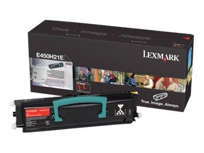 Lexmark - Hohe Ergiebigkeit - Schwarz - Original - Tonerpatrone LCCP - für Lexmark E450dn, E450dtn