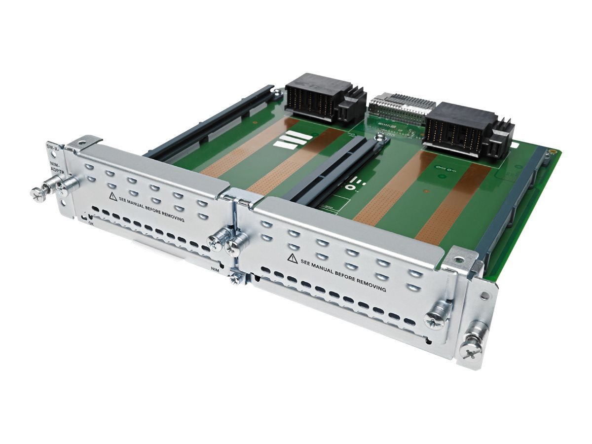 Cisco Network Interface Module - Netzwerkadapter - T-1/E-1 - für Integrated Services Router 4321, 4331, 4351, 4431
