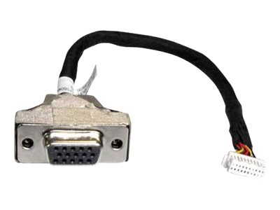 Shuttle PVG01 - VGA-Kabel - HD-15 (VGA) (W) - 16 cm - für Shuttle DS81, XH81, XH81V; XPC slim DH110, DH170, DH310V2, DQ170, DX30