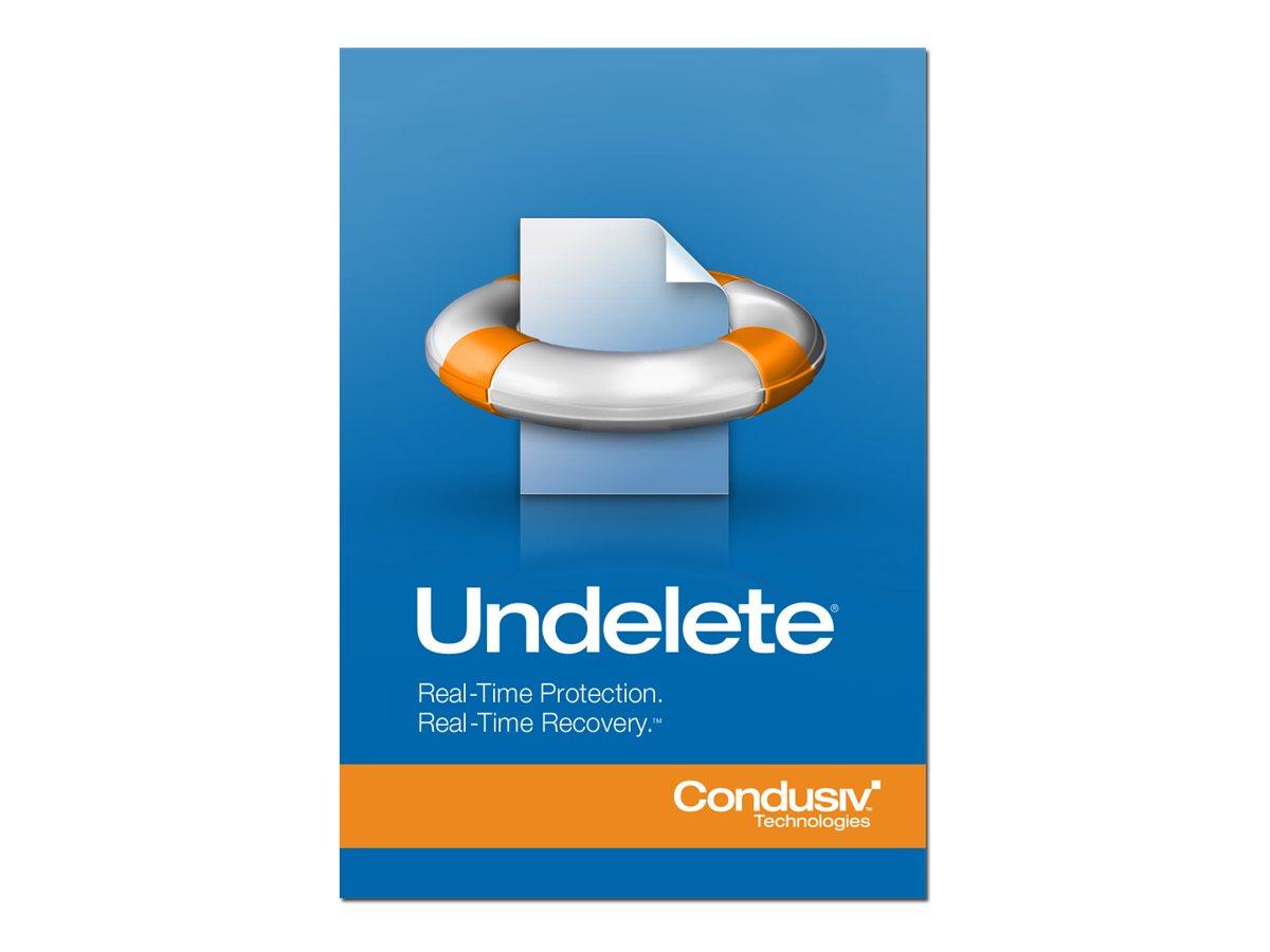 Undelete Professional Edition - (v. 10) - Lizenz - 1 Workstation - Volumen - 10-99 Lizenzen