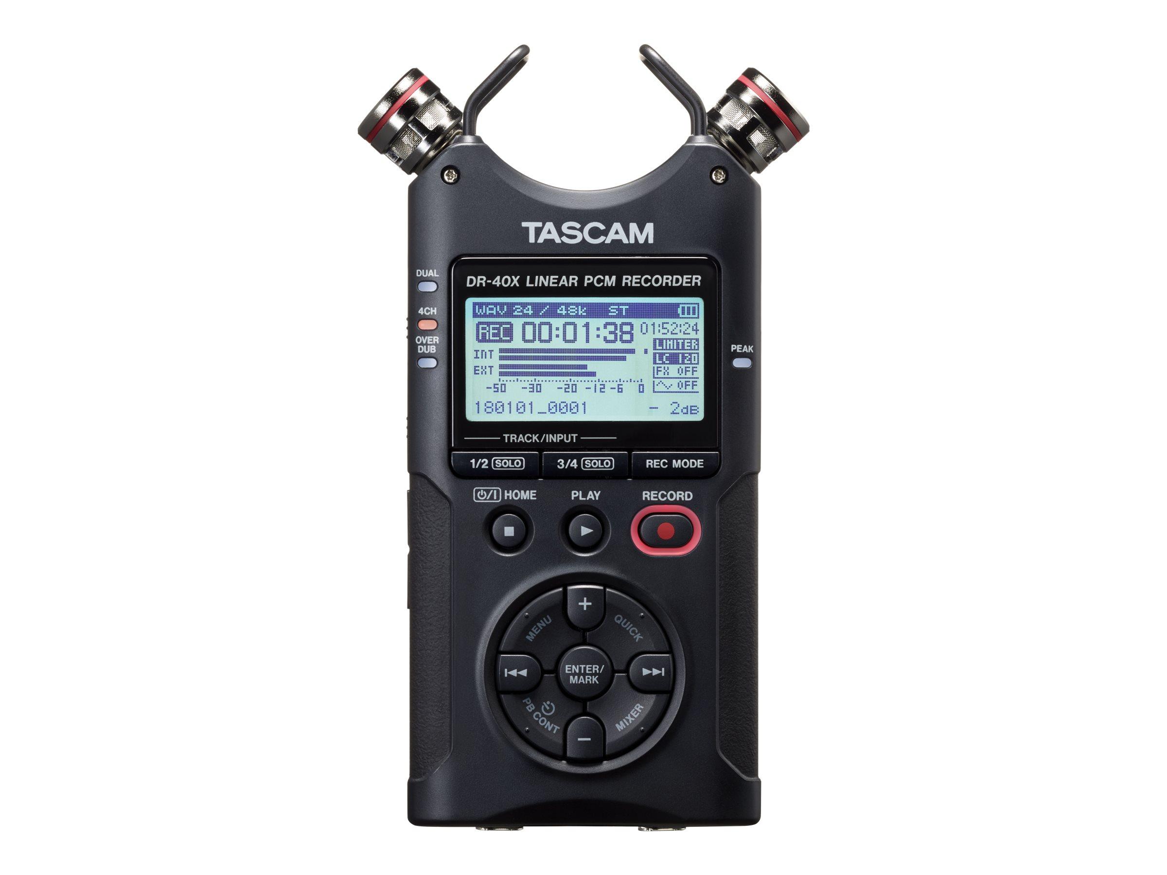 Tascam DR-40X - Voicerecorder
