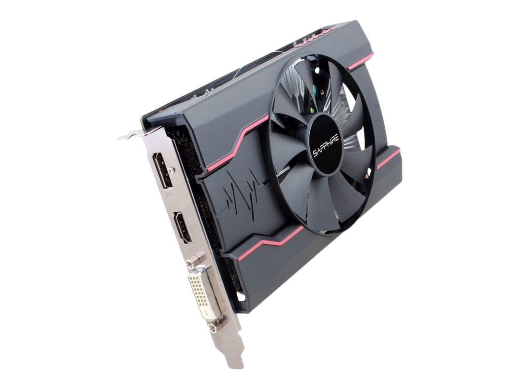 Sapphire Pulse Radeon RX 550 - Grafikkarten - Radeon RX 550 - 2 GB GDDR5 - PCIe 3.0 x16 - DVI, HDMI, DisplayPort