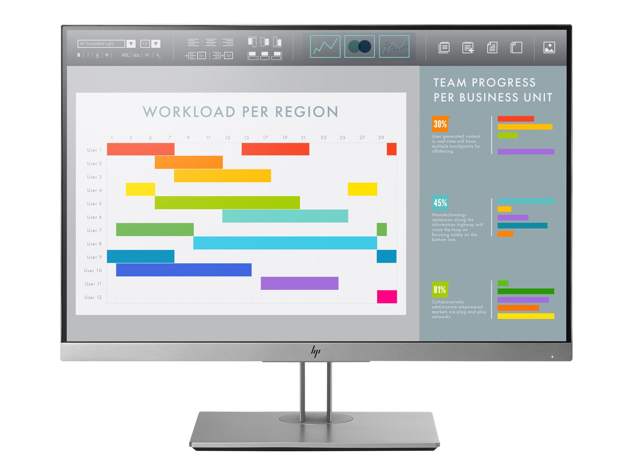 HP EliteDisplay E243i - LED-Monitor - 60.96 cm (24