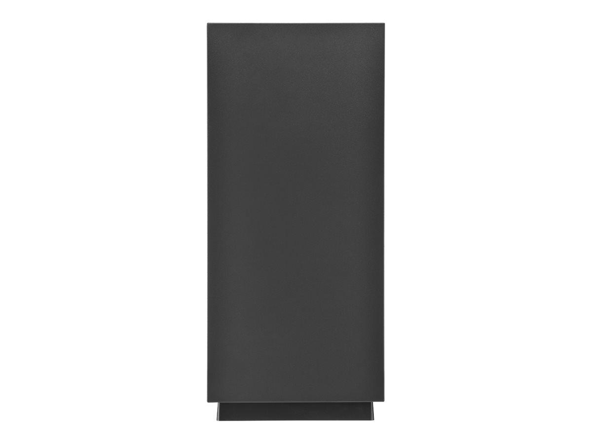 Sharkoon PURE STEEL - Tower - Erweitertes ATX - ohne Netzteil - Schwarz - USB/Audio