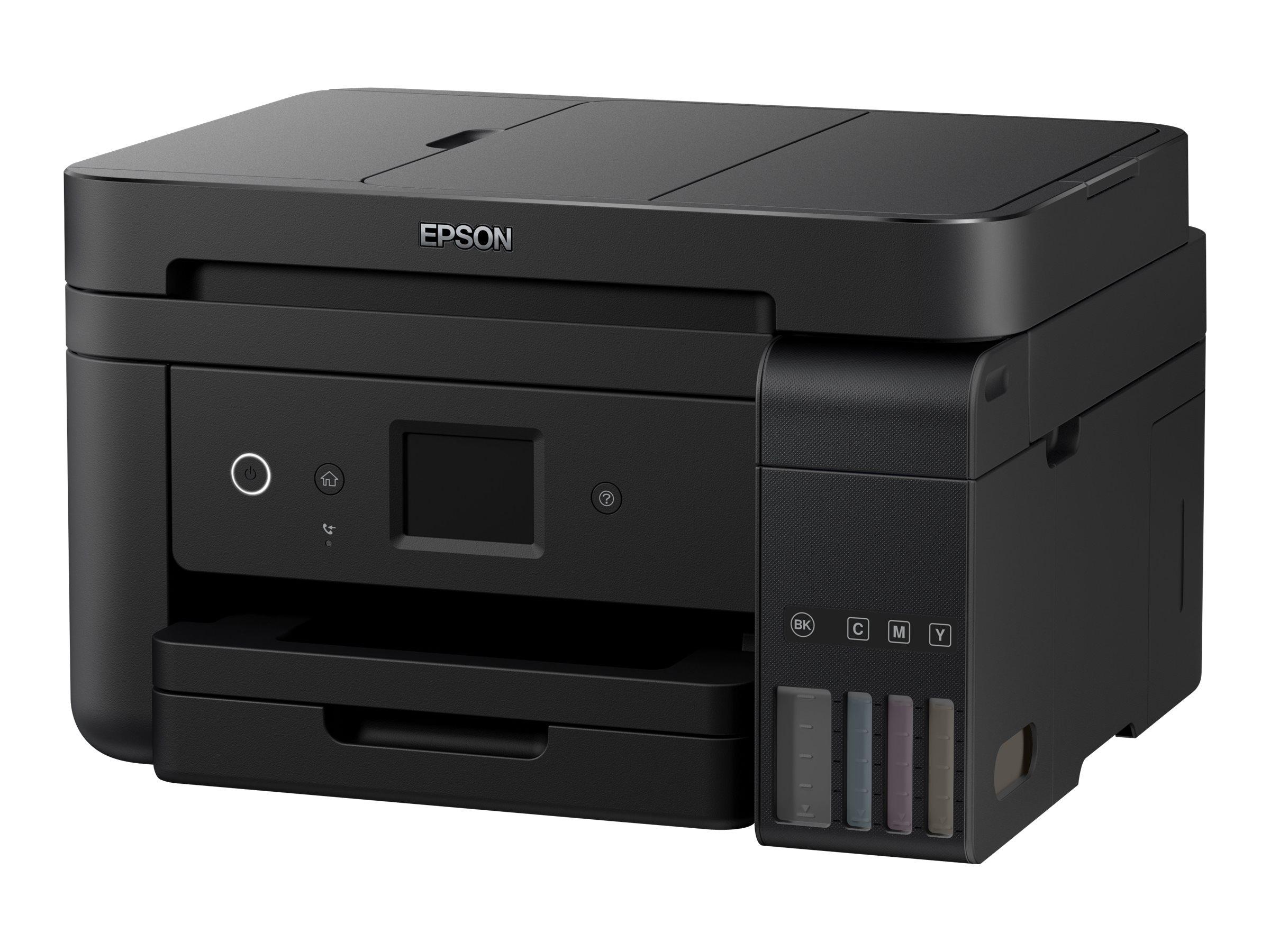 Epson EcoTank ET-4750 - Multifunktionsdrucker - Farbe - Tintenstrahl - A4/Legal (Medien) - bis zu 15 Seiten/Min. (Drucken)