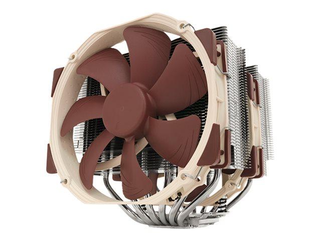 Noctua NH-D15 - Prozessor-Luftkühler - (für: AM4) - Aluminium mit nickelbeschichteter Kupferbasis - 140 mm