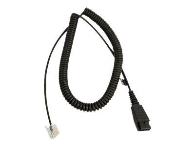 Jabra - Headset-Kabel - Quick Disconnect bis RJ-45 - für Siemens OpenStage