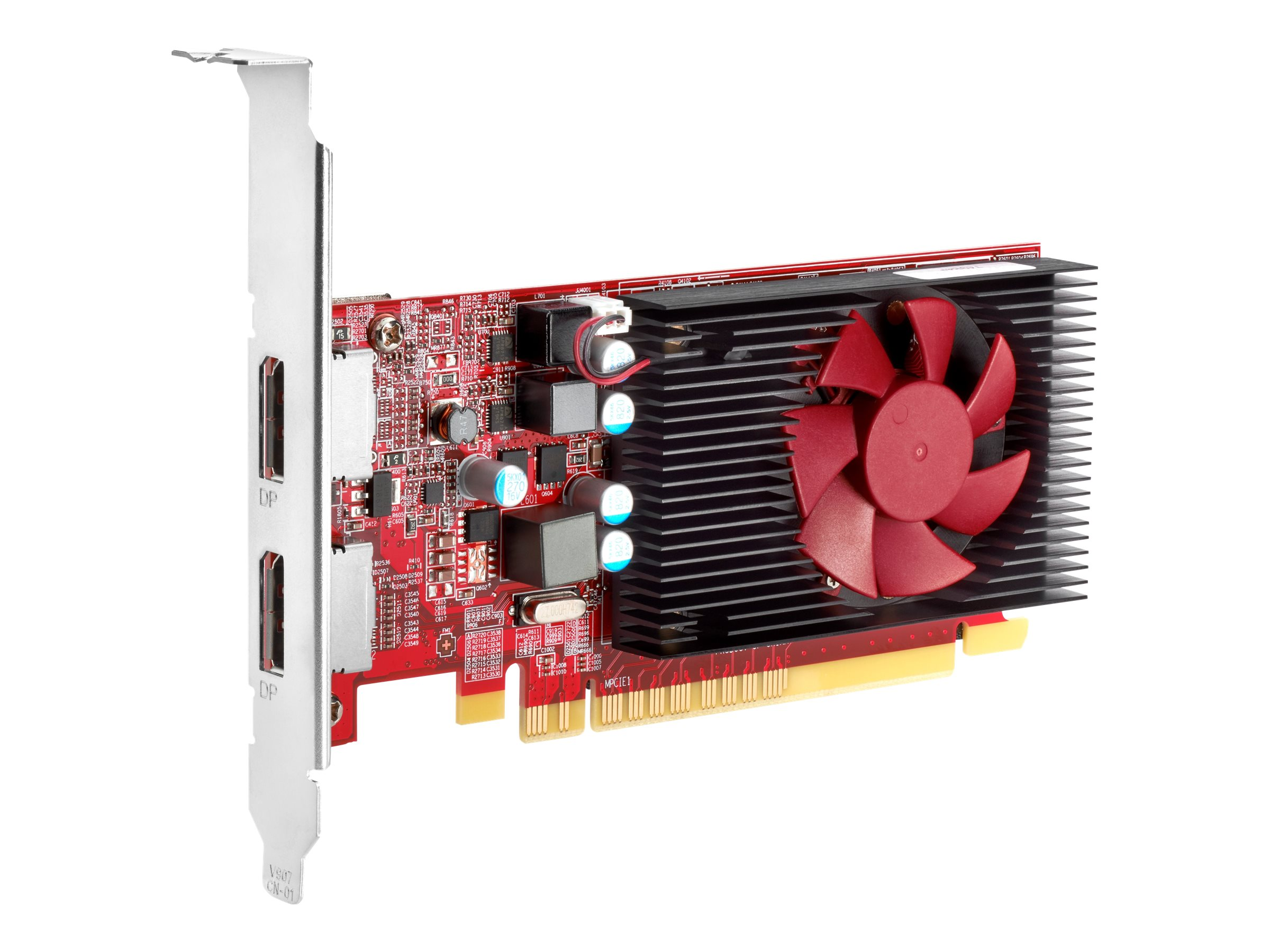 AMD Radeon R7 430 - Grafikkarten - Radeon R7 430 - 2 GB GDDR5 - PCIe 3.0 x16 Low-Profile - DisplayPort