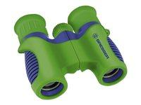 Bresser Children's Binoculars - Fernglas 6 x 21 - Dachkant - Blau, grün