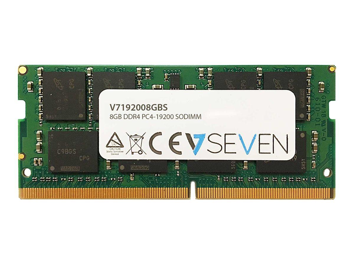 V7 - DDR4 - 8 GB - SO DIMM 260-PIN - 2400 MHz / PC4-19200 - CL17