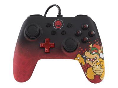 POWER A Character Series - Bowser Edition - Game Pad - kabelgebunden - für Nintendo Switch