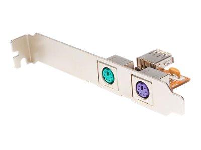 StarTech.com USB auf PS/2 Tastatur und Maus Konverter / Adapter - Tastatur/Maus/USB-Adapter - PS/2 (W) bis USB, 4-polig IDC (W)