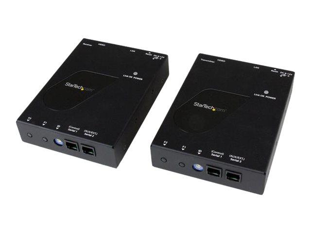 StarTech.com HDMI über IP Ethernet LAN Extender Kit bis zu 100m - HDMI over IP Gigabit Netzwerk Cat 6 Extender 1080p - Erweiteru