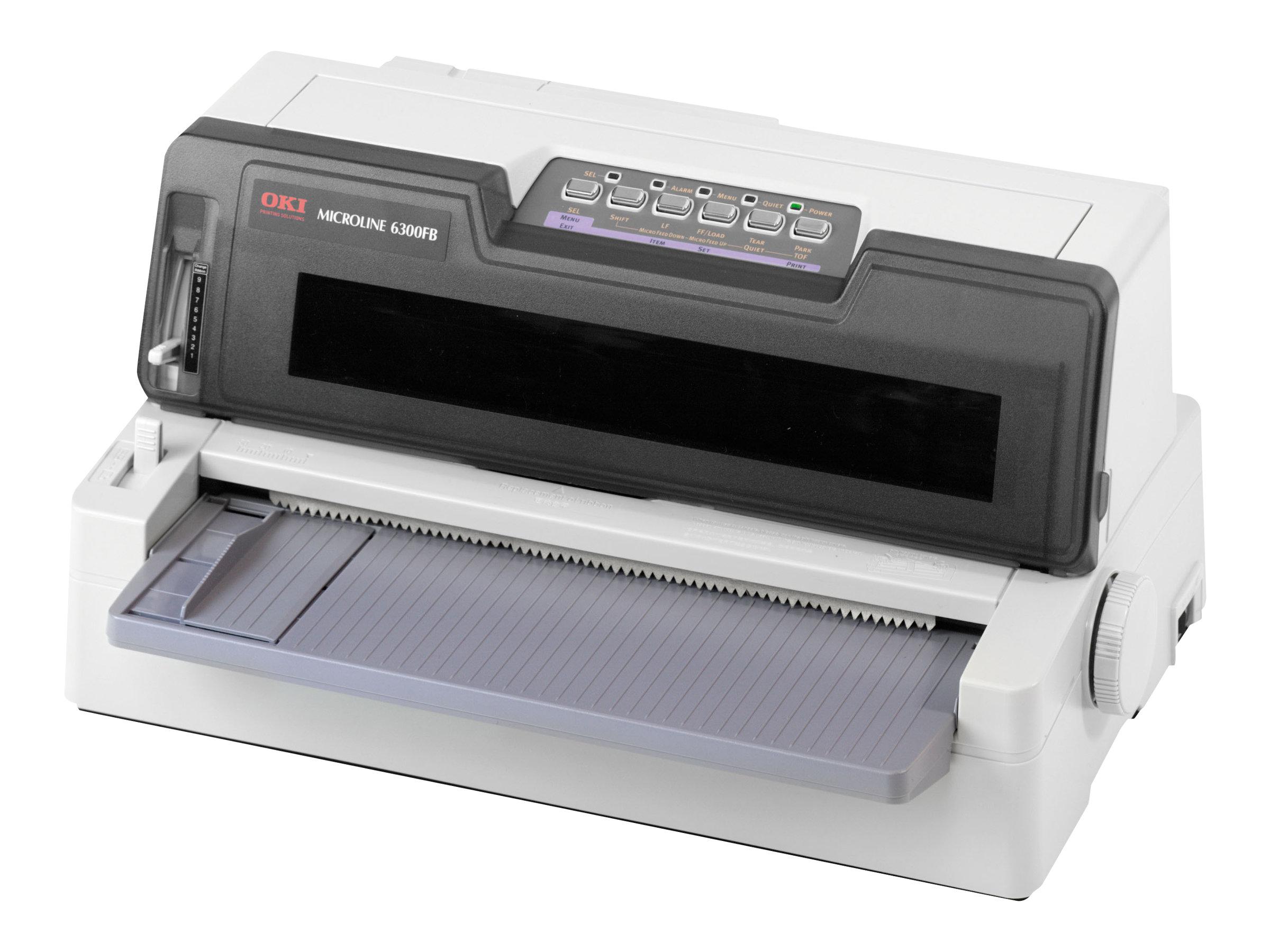 OKI Microline 6300 FB-SC - Drucker - monochrom - Punktmatrix - 304,8 mm (Breite) - 360 dpi