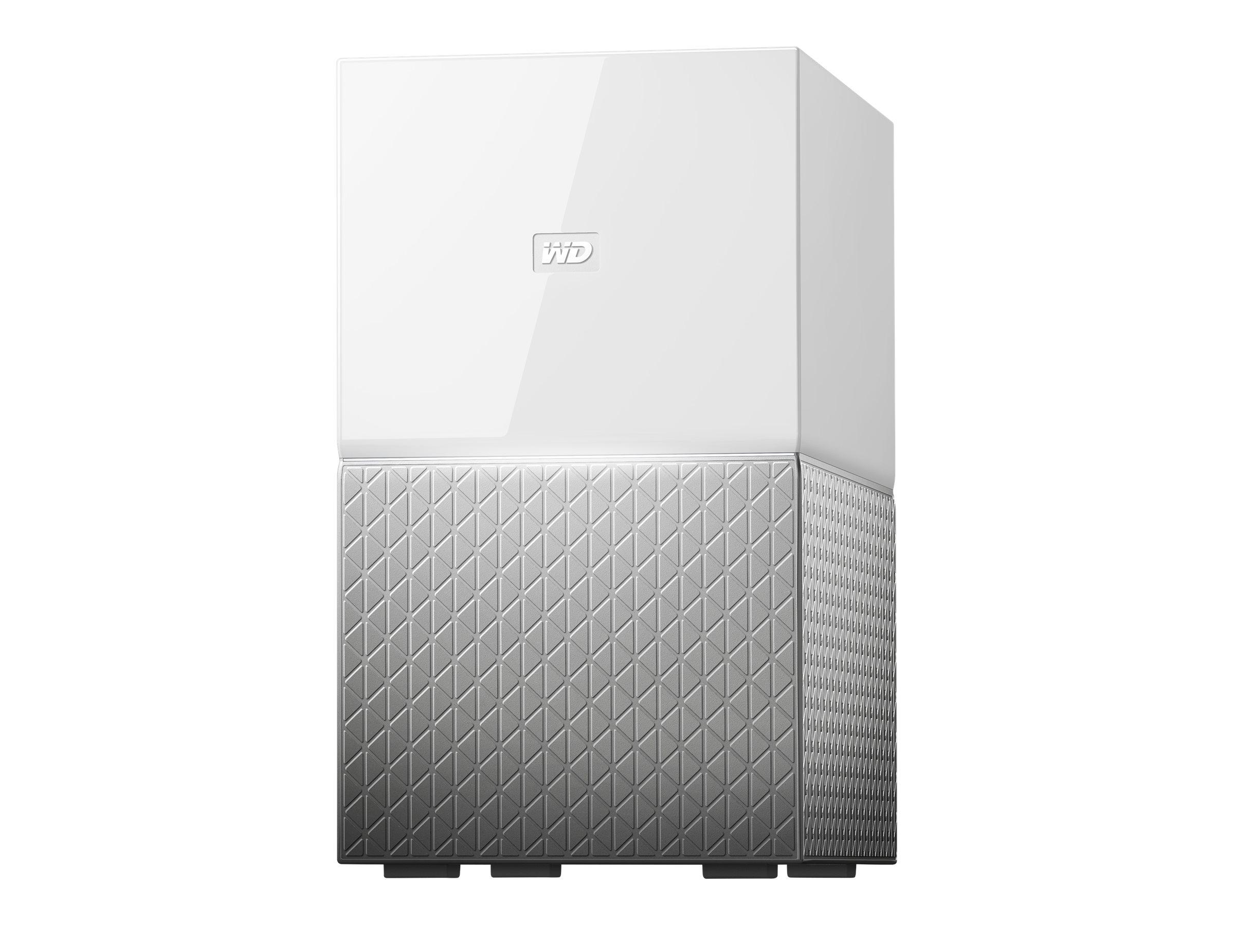 WD My Cloud Home Duo WDBMUT0120JWT - Gerät für persönlichen Cloudspeicher - 12 TB - HDD 6 TB x 2 - Gigabit Ethernet