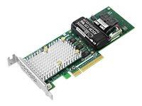Microsemi Adaptec SmartRAID 3162-8i /e - Speichercontroller (RAID) - 8 Sender/Kanal - SATA 6Gb/s / SAS 12Gb/s Low-Profile - 12 G