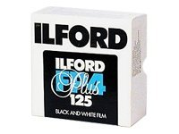 Ilford FP4 Plus - Schwarz-Weiss-Negativfilm - Rolle 35 mm x 100' - ISO 125