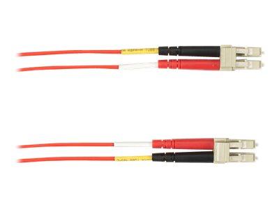 Black Box - Patch-Kabel - LC Multi-Mode (M) bis LC Multi-Mode (M) - 3 m - Glasfaser - Rot