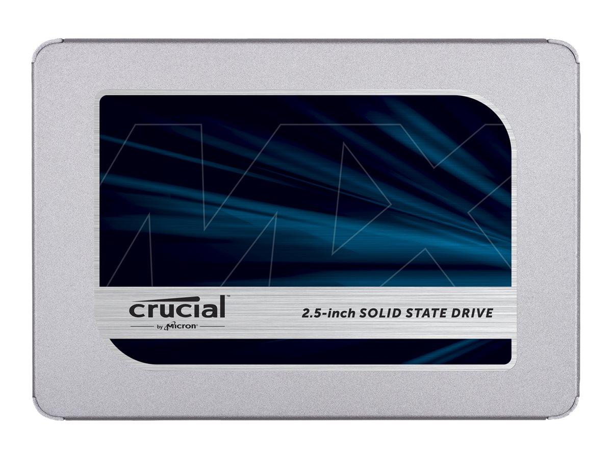 Crucial MX500 - Solid-State-Disk - verschlüsselt - 2 TB - intern - 2.5