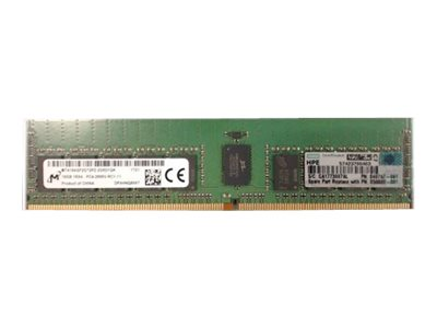 HPE SmartMemory - DDR4 - 16 GB - DIMM 288-PIN - 2666 MHz / PC4-21300 - CL19