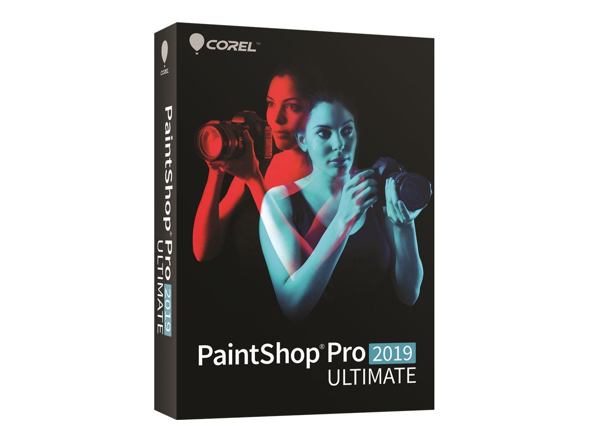 Corel PaintShop Pro 2019 Ultimate - Box-Pack - 1 Benutzer (Mini-Box) - Win - Multi-Lingual