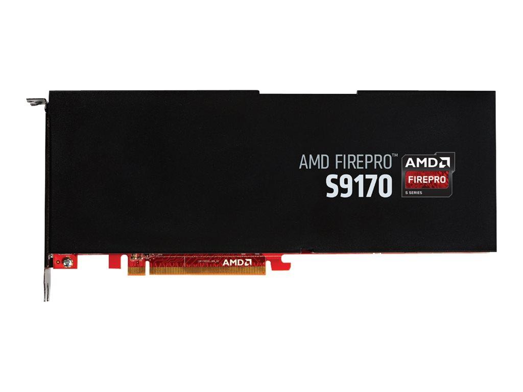 AMD FirePro S9170 - Grafikkarten - FirePro S9170 - 32 GB GDDR5 - PCIe 3.0 x16 - ohne Lüfter