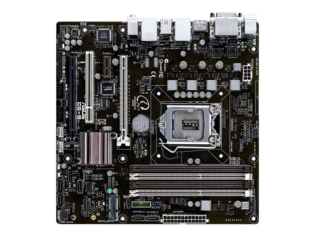 ASUS CS-B - Motherboard - micro ATX - LGA1150-Sockel - Q87 - USB 3.0