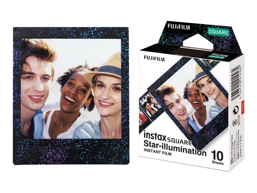 Fujifilm Instax Square Star illumination - Instant-Farbfilm - 10 Belichtungen