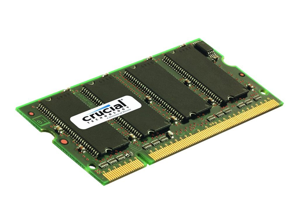 Crucial - DDR2 - 1 GB - SO DIMM 200-PIN - 667 MHz / PC2-5300 - CL5