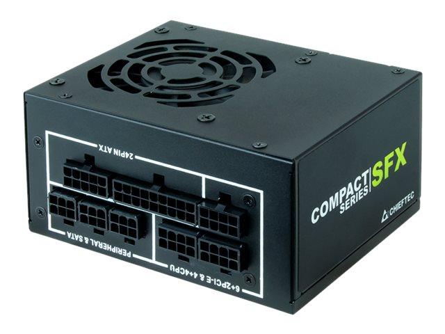 Chieftec Compact Series CSN-450C - Stromversorgung (intern) - ATX12V 2.3/ SFX12V - 80 PLUS Gold - Wechselstrom 100-240 V - 450 W